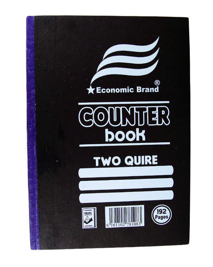 Counter Book, 2 Quire A4 - Dolphin Stationers