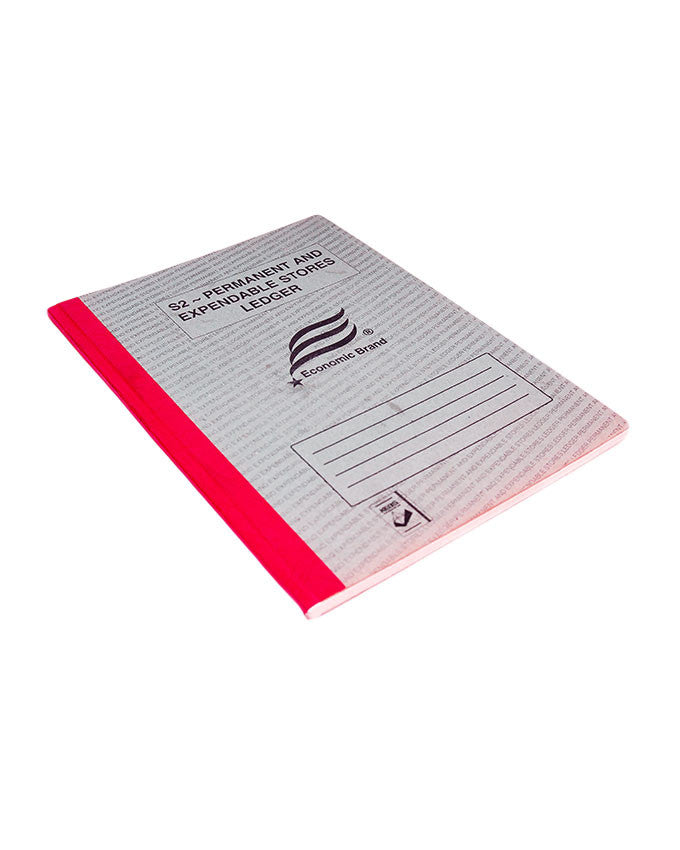S2 Permanent & Expendable Stores Ledger - Dolphin Stationers