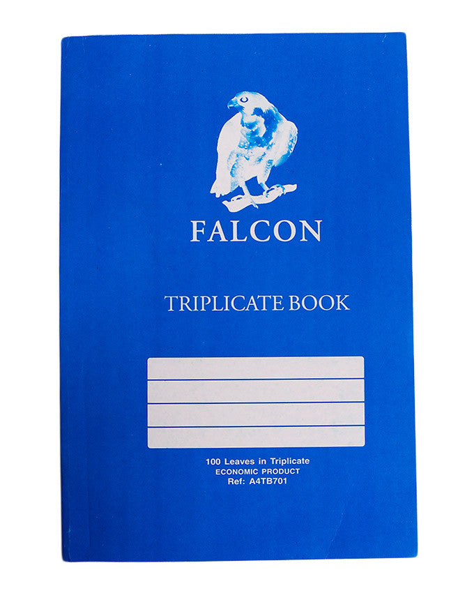 Triplicate Book A4 - Dolphin Stationers