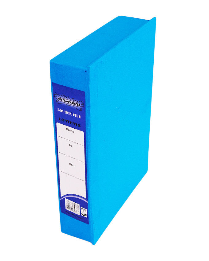 Box File with Lid - Dolphin Stationers