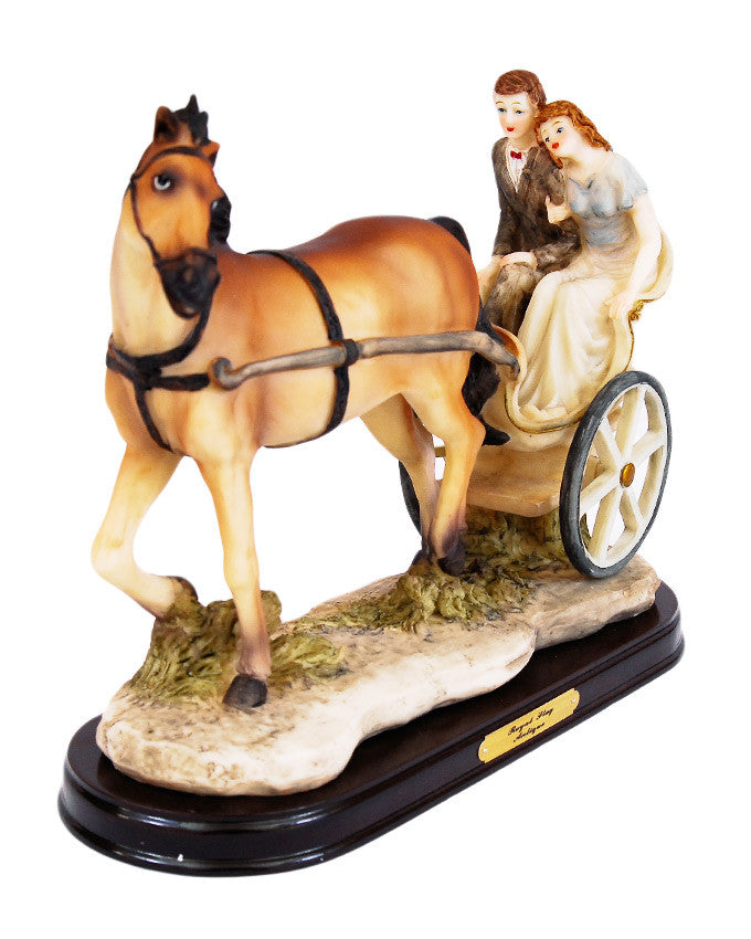 Jus Married Horse Carriage - Dolphin Stationers