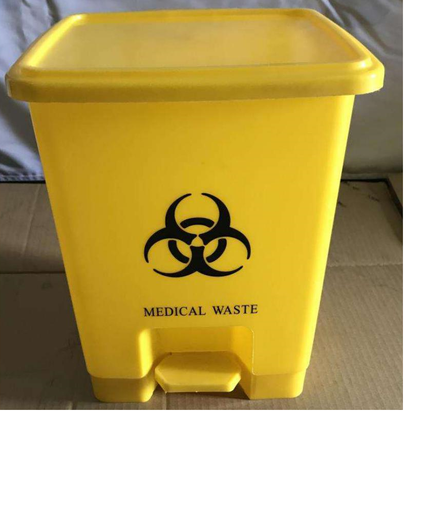 Garbage Bin Medical Waste - Dolphin Stationers