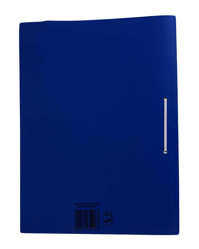 PVC Folder with Fastener - Dolphin Stationers