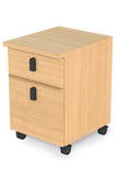 Pedestal, 2 Drawer - Dolphin Stationers
