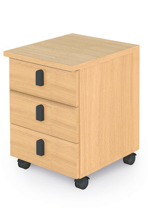 Pedestal,3 Drawer - Dolphin Stationers