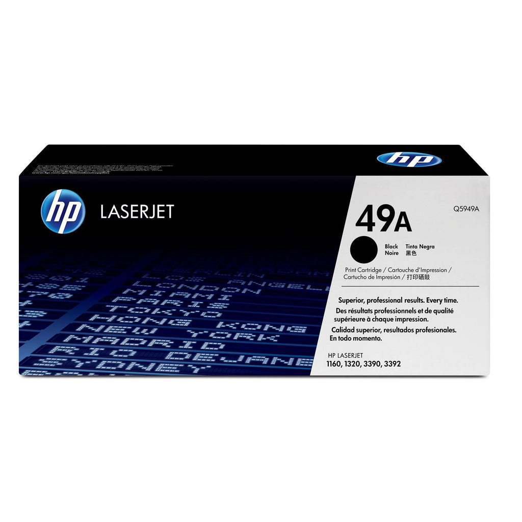 LaserJet Toner Cartridge, HP 49A Black - Dolphin Stationers