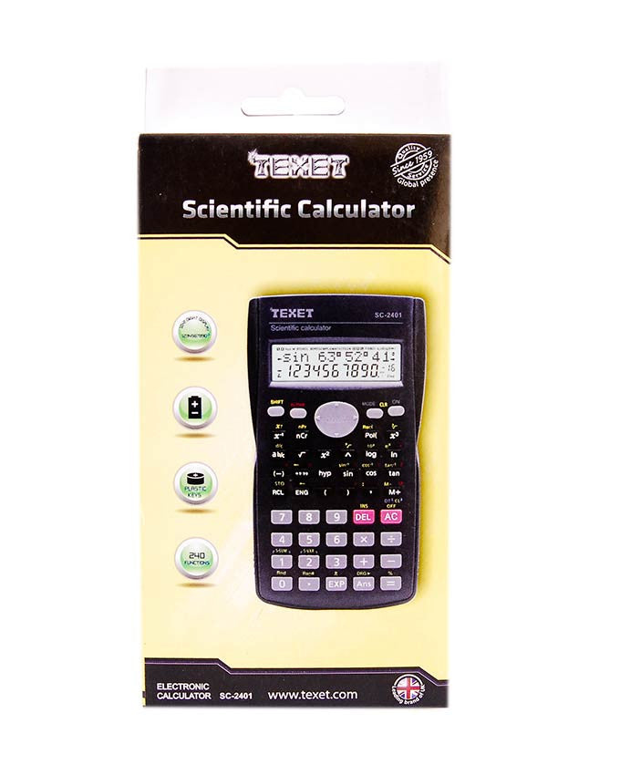 Scientific Calculator, SC-2401 - Dolphin Stationers