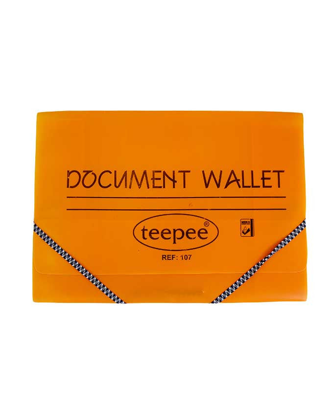 Document Wallet, PVC - Dolphin Stationers