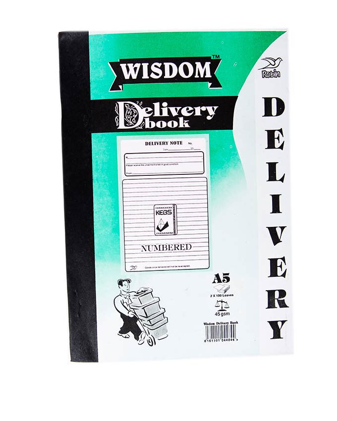 Delivery Book, A5 Duplicate - Dolphin Stationers