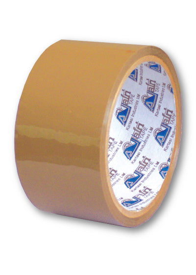 Brown Tapes 72mm x 100 Metres - Dolphin Stationers