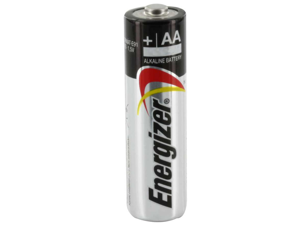 Energizer Max E91-VP AA 1.5V Alkaline Button Top Batteries - Dolphin Stationers