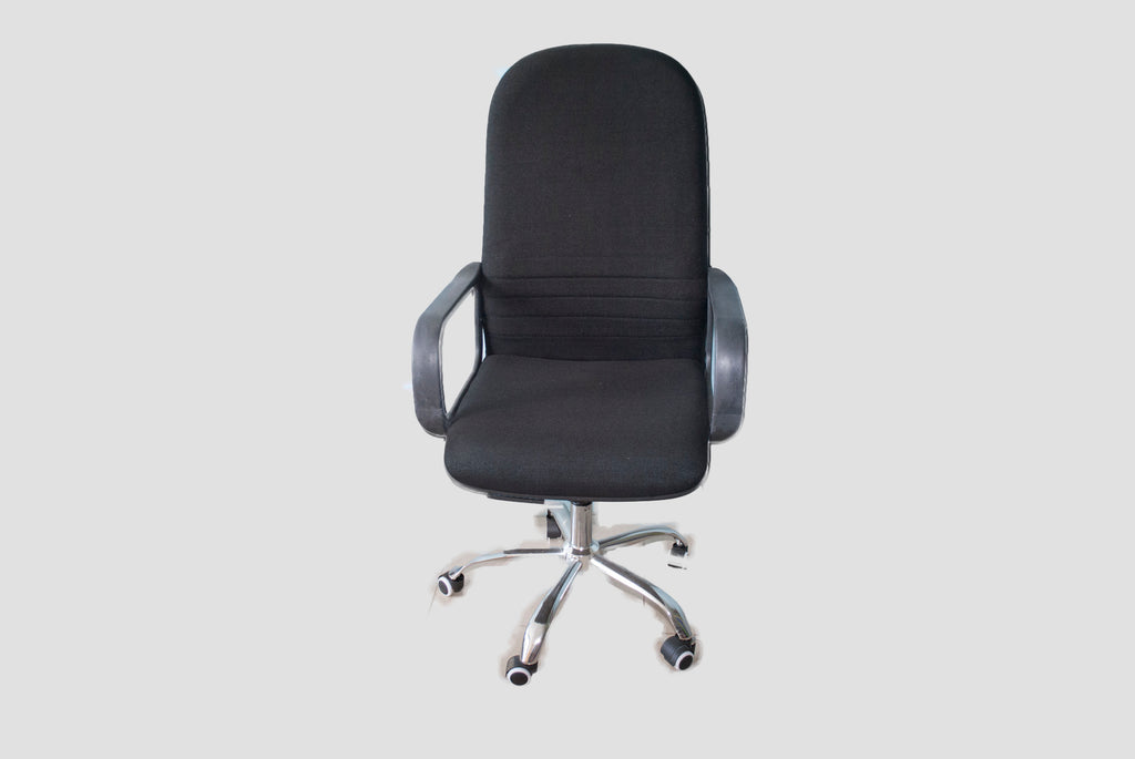 Fabric High Back Executive Chair - Dolphin Stationers