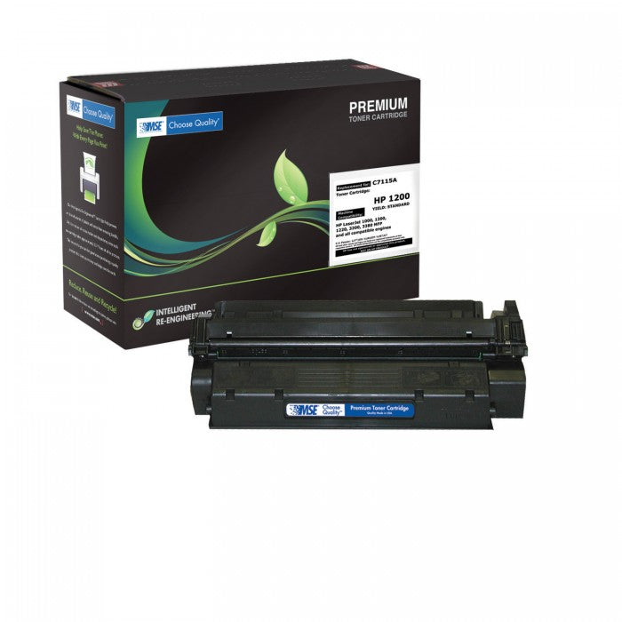 Laserjet Toner Cartridge Premium MSE 15A  (C7115A) Black - Dolphin Stationers