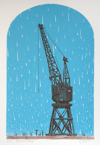 Rain on Crane Simon Tozer