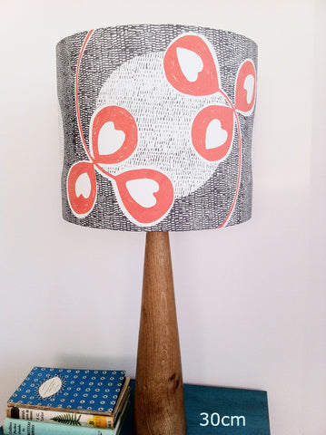 Clover Moon Lampshade in Satsuma