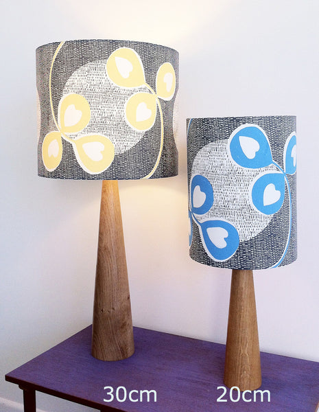 Clover Moon Lampshade in Buttercup