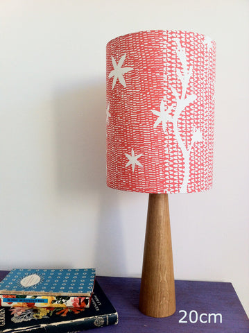 Crocosmia Star Lampshade in Satsuma