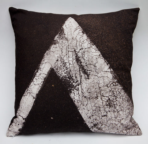 Tarmac 1, digitally printed cushion