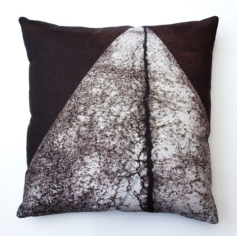 Tarmac 4 Perspective, digitally printed cushion