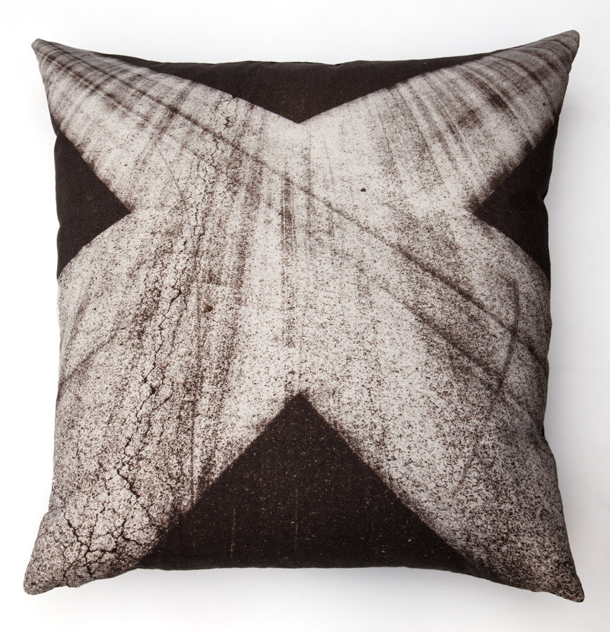Tarmac 5 X, digitally printed cushion
