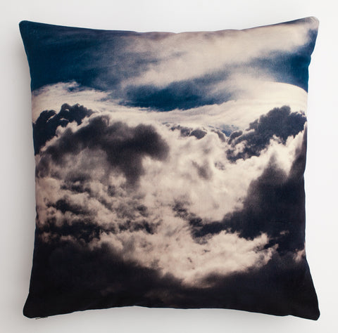Cloud 2, digitally printed Velvet cushion