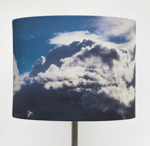 Azure Clouds Lampshade