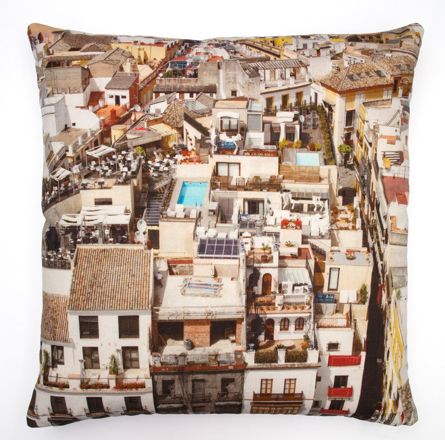 Vista Seville, digitally printed cushion