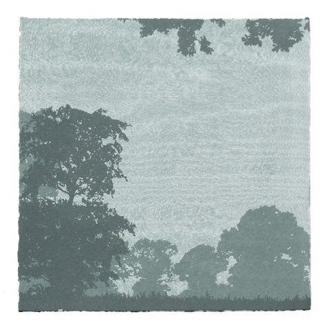 Anna Harley - Mini Print: Oaks. screen prints
