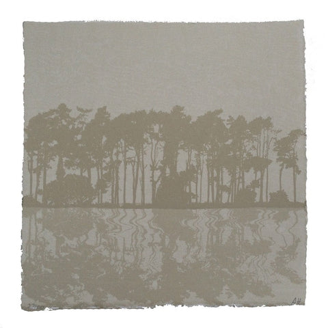 Anna Harley - Mini Print: Pines. screen print