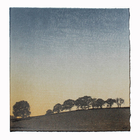 Anna Harley - Mini Print: Sunrise. screen print