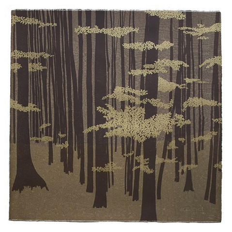 Anna Harley - Beech Trees. screen prints