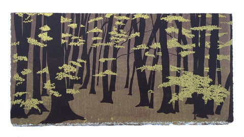 Anna Harley - Autumn Beech. screen print