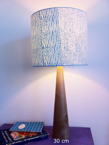 Wigglezig Lampshade in Azure