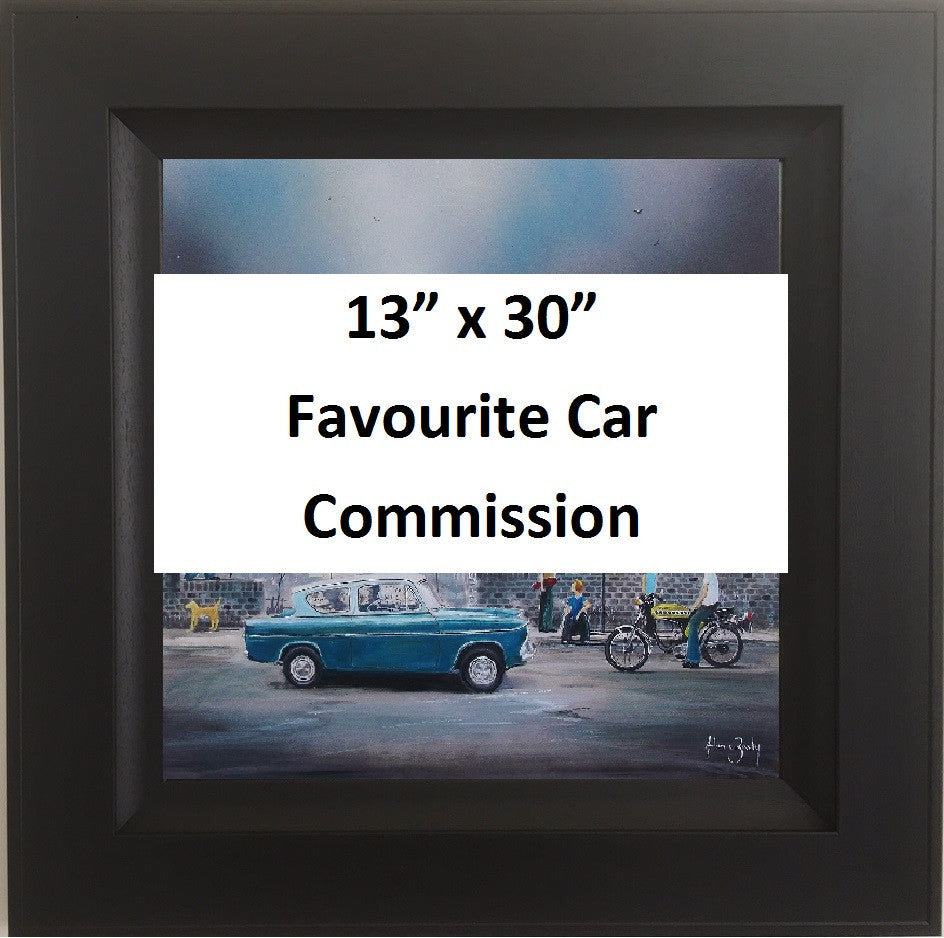 Favourite Car Commission 13x30