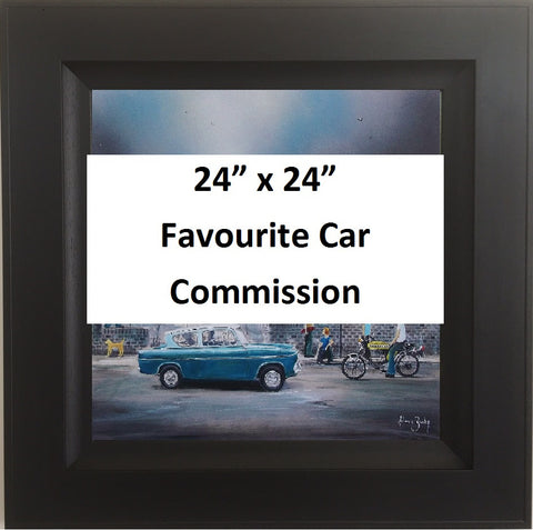 Favourite Car Commission 36x24