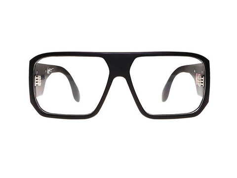 Filtrate Eyewear Hippy Killer | Working Class | BLACK MATTE / CLEAR LENS