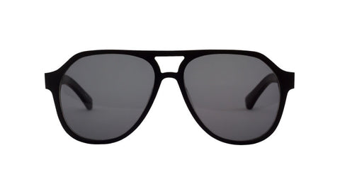 Filtrate Eyewear Hoffman | Raw | BLACKOUT/ SMOKE LENS