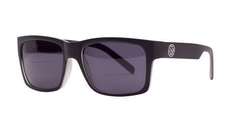 John Brown | BLACK  GLOSS/ GREY SMOKE LENS POLARIZED| Injected