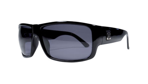 Riff | BLACK GLOSS/GREY LENS POLAR | Injected
