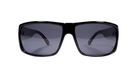 Filtrate Eyewear Riff | Injected | BLACK GLOSS/GREY LENS POLAR