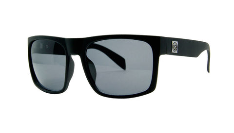 Sink XL | BLACK MATTE / GREY POLARIZED | Injected