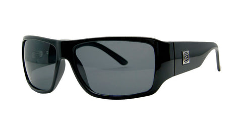 Tracer 2 | GLOSS BLACK/ GREY LENS Polarized | Injected