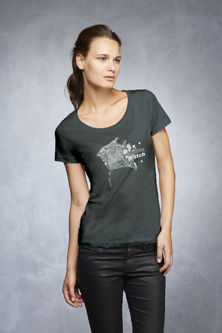 Manta Splash Womens T-Shirt