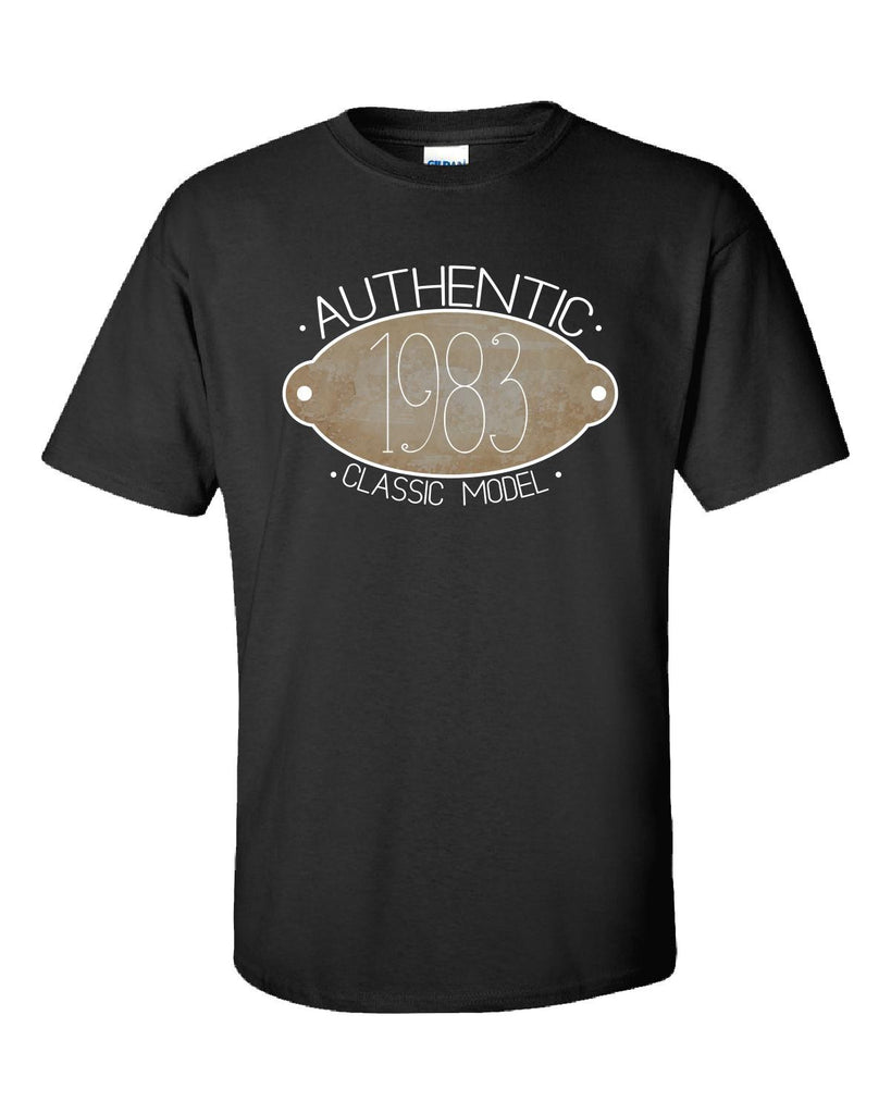 Birth Year Authentic Classic Model 1983-Ultracotton T Shirt