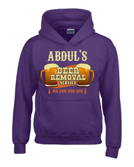 ABDUL S Beer Removal Service No Job Too Big-Hoodie