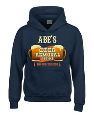 ABE S Beer Removal Service No Job Too Big-Hoodie