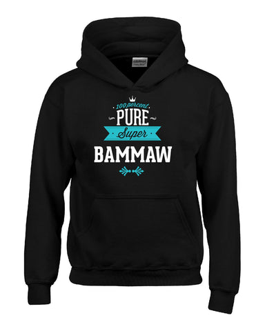 100 Percent Pure Super BAMMAW - Hoodie feature