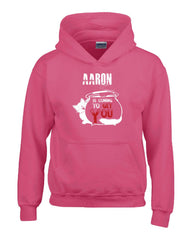 AARON Is Coming To Get You Halloween - Hoodie