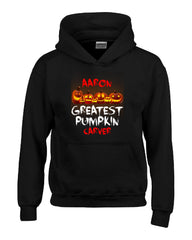 AARON Greatest Pumpkin Carver v1 Halloween - Hoodie