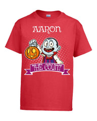 AARON The Count Halloween - Kids T Shirt